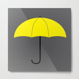 HIMYM - The Mother Metal Print