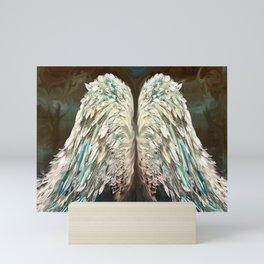 Mystic Angel Wings Mini Art Print