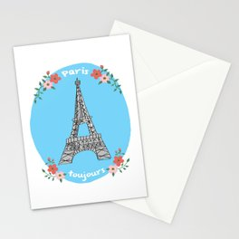 "Paris toujours (""Paris always"") Stationery Cards"