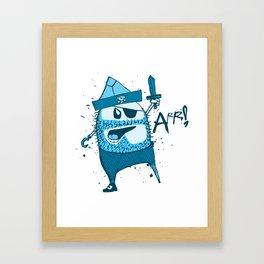 Bluebeard Framed Art Print