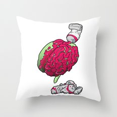 Neurogenesis Throw Pillow