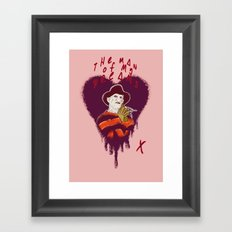 The Man Of My Dreams Framed Art Print