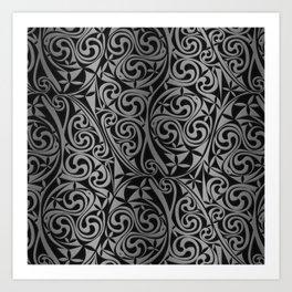Celtic Warlord titanium Art Print