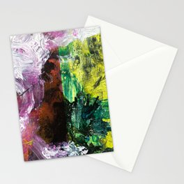 Sweet or Sour // abstract painting Stationery Cards