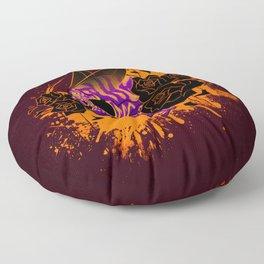 Skull 'n' Roses (NightmareNetty-Colored) Floor Pillow