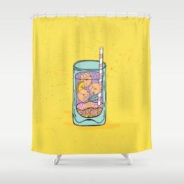 Gin & Juice Shower Curtain