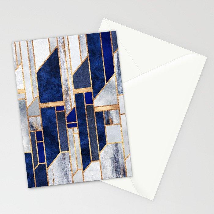 Blue Winter Sky Stationery Cards