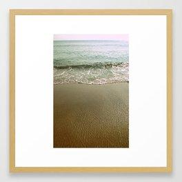 Nags Head, NC Morning Beach Framed Art Print