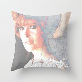 Girl Memories Jill Throw Pillow