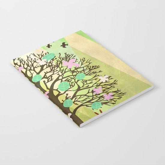 Spring Tree Notebook