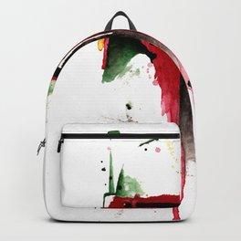 bountyhunter space wars boba Watercolor Backpack