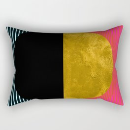 Abstract Sunset Rectangular Pillow