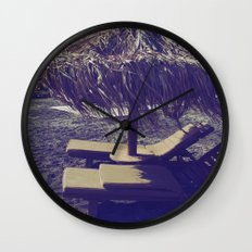 Private Paradise II Wall Clock