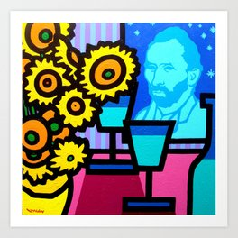 Still Life With Vincent Art Print