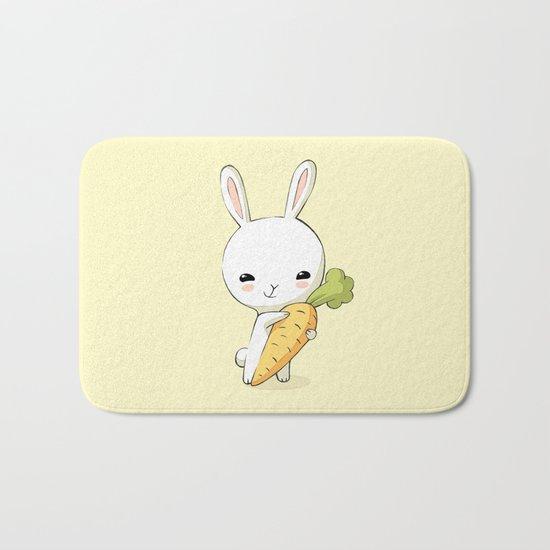 Bunny Carrot 2 Bath Mat
