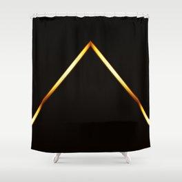 Pyramid of Light Shower Curtain