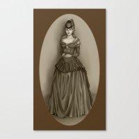 lydia martin Canvas Prints featuring Lydia Martin by Katsur