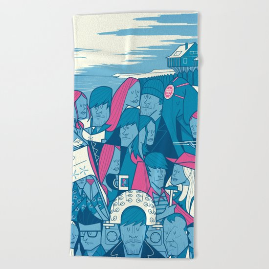 Lacuna Beach Towel