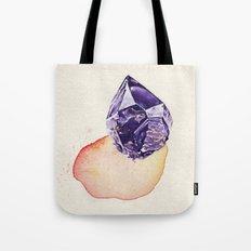Amethyst Splash Tote Bag