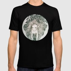 keyhole in the jungle Black MEDIUM Mens Fitted Tee