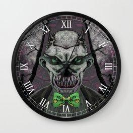 Devil's Butler Wall Clock