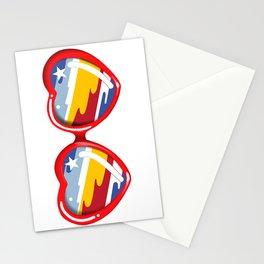 California Girl Sunglasses Stationery Cards