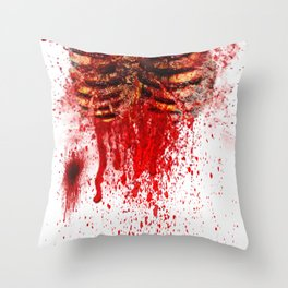 Zombie 2 Throw Pillow