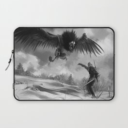 The beast of White Orchard Laptop Sleeve
