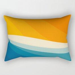 Abstract landscape art Rectangular Pillow