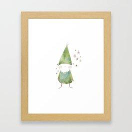 Bird Elf Framed Art Print