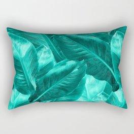 Banana leaf 2 Tropical Rectangular Pillow