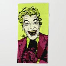 Joker On You 2 Beach Towel