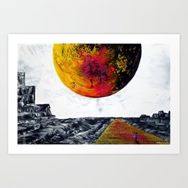 Come On A Journey With Me Art Print
