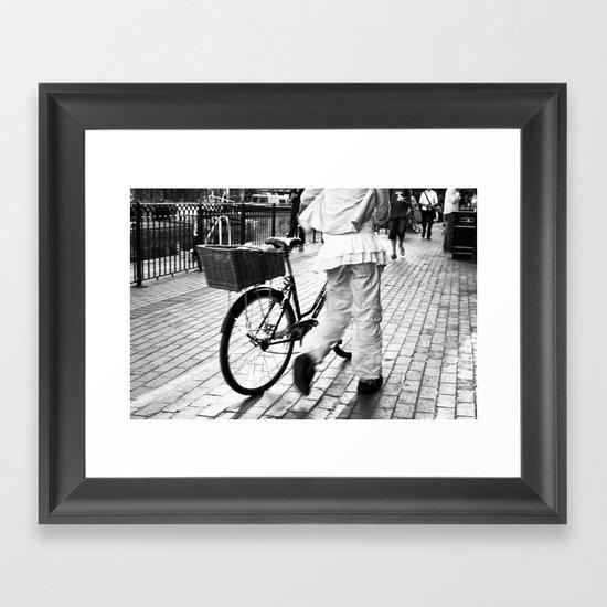 Ease Framed Art Print