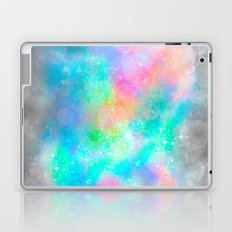 The Soul Becomes Dyed With the Colors of it's Thoughts (Galactic Watercolors) Laptop & iPad Skin