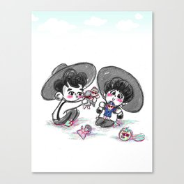 Everybody Minho & Taemin Canvas Print