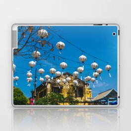 Lanterns in Hoi An, Vietnam Laptop & iPad Skin