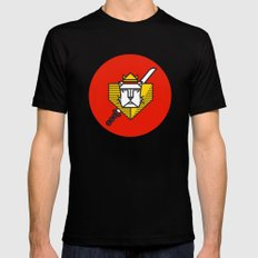 Gryffindor House Crest Icon Mens Fitted Tee Black MEDIUM