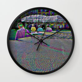 long division, Crack and divide. This is a parting Wall Clock