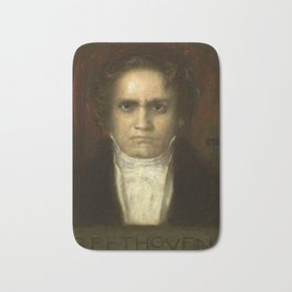 Ludwig van Beethoven (1770-1827) by Franz von Stuck (1863 - 1928)(2) Bath Mat