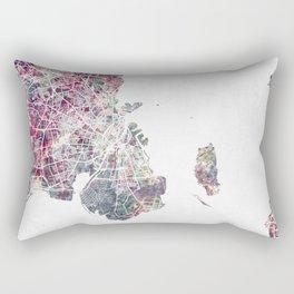 Copenhagen map Rectangular Pillow
