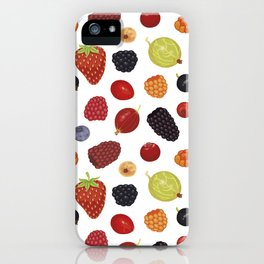 Culinary Berries iPhone Case