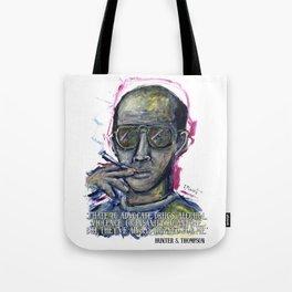 Hunter S. Thompson Tote Bag