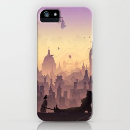 Wind's In The East... iPhone Case
