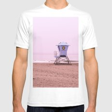 Cotton Candy Dhaze Mens Fitted Tee White MEDIUM