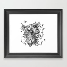 Cycle 1 Framed Art Print