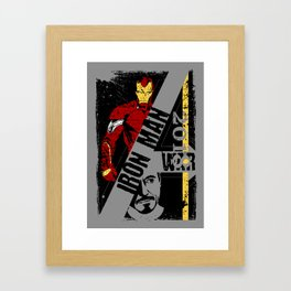 -IRON MAN- Framed Art Print