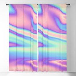 Holographic Design Blackout Curtain