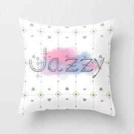 Jazzy Okami v.5 Throw Pillow