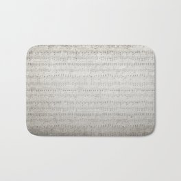 """MUSIC by collection """"Music"""" Bath Mat"""